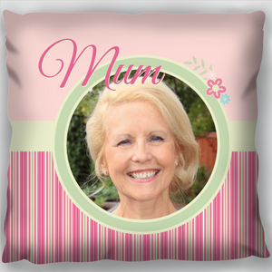 Mum & Flowers Cushion