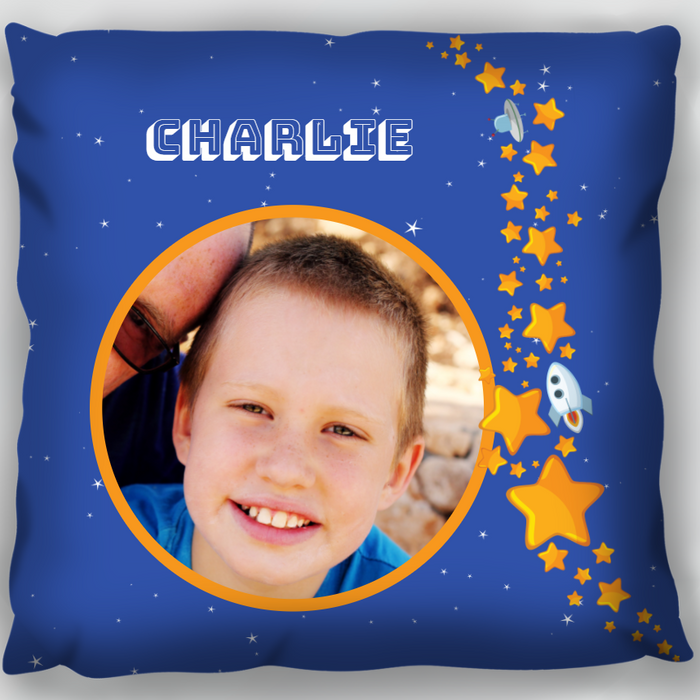 Starfield Photo Cushion