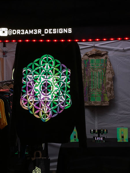 Special edition double print Metatron and flower of life