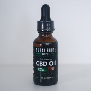 Rural Route Hemp Co. Full Spectrum CBD Oil 750mg