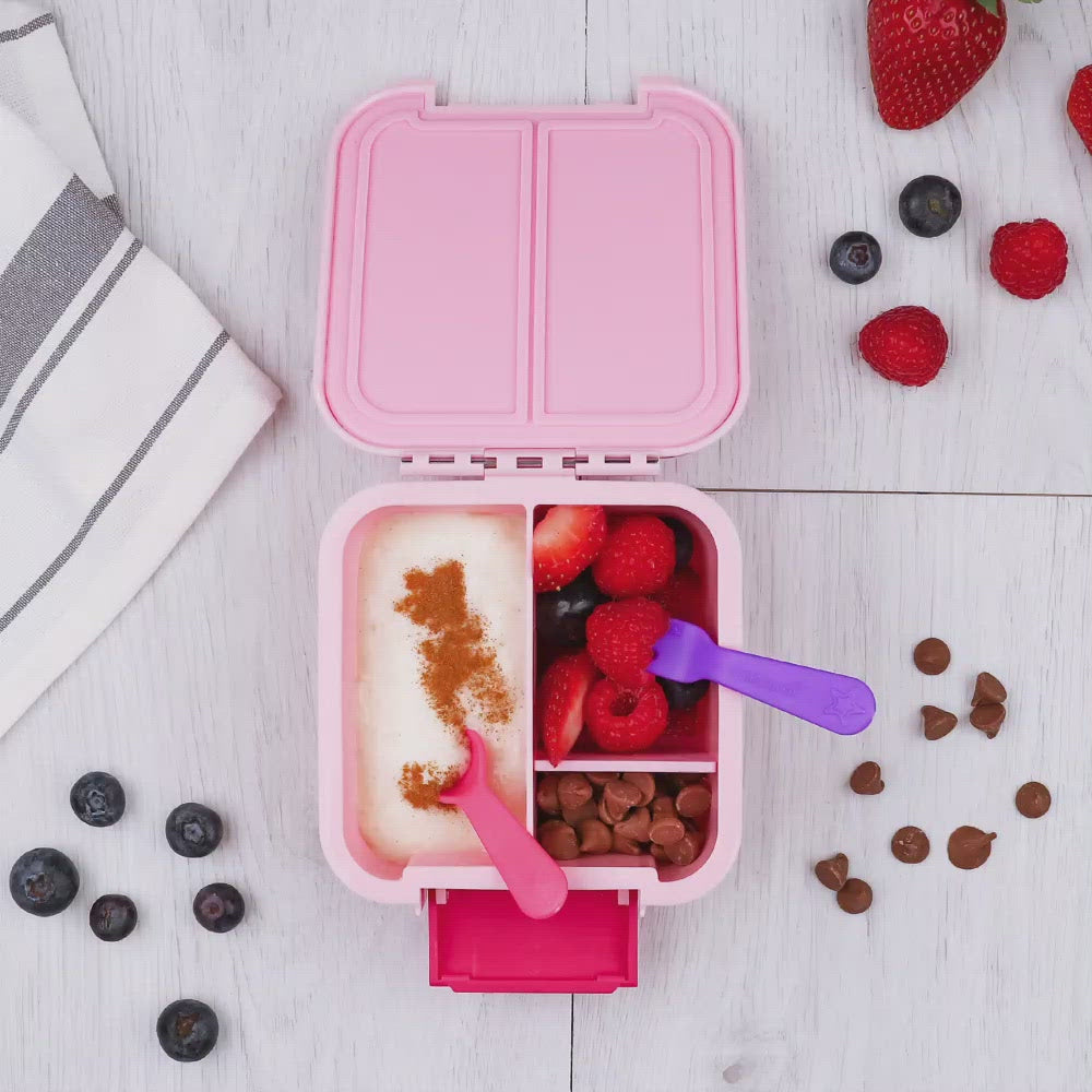 Lunch Punch Fork & Spoon set with Bento boxes