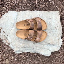 Load image into Gallery viewer, BIRKENSTOCK Arizona Tobacco Brown Oiled Leather
