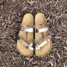 Load image into Gallery viewer, BIRKENSTOCK Mayari Graceful Taupe Birko-flor