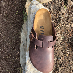 BIRKENSTOCK Boston Habana Oiled Leather