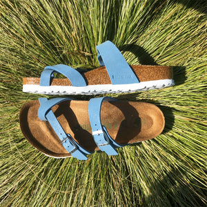 BIRKENSTOCK Mayari Brushed Dove Blue VEGAN
