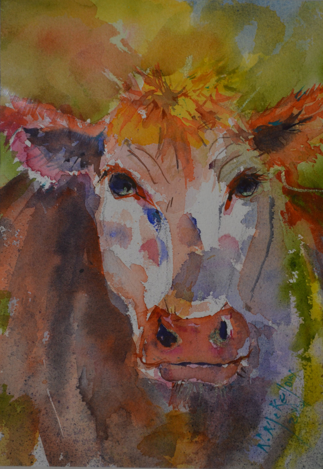 Cow 2020 by Nell McKellor