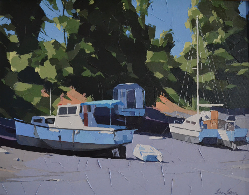 Dry Dock at Nelson by John Gillies