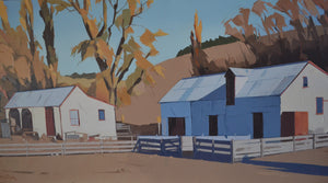 Historic Shed and Yards, Hurunui by John Gillies
