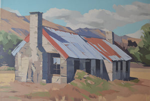 Cookhouse at Morven Hills, Otago by John Gillies