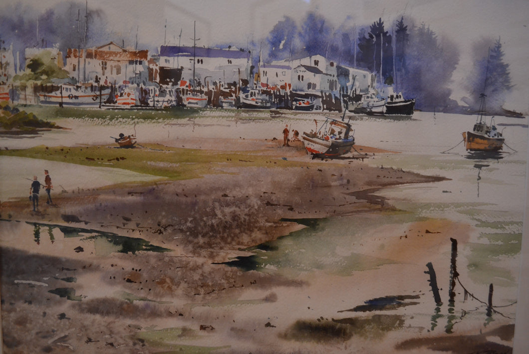 Low Tide Port Motueka, Nelson by JK Reed