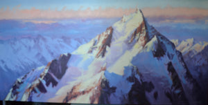 Mt Cook by Charles Pickworth
