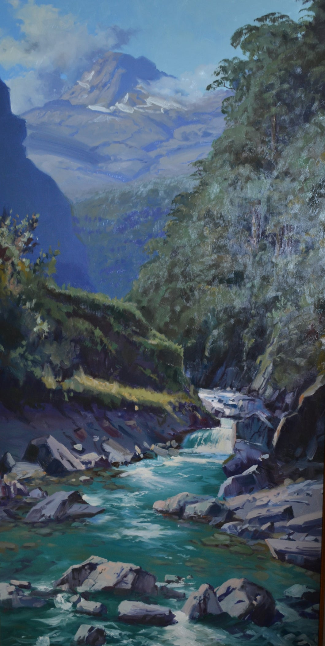 Stream into Haast by Charles Pickworth