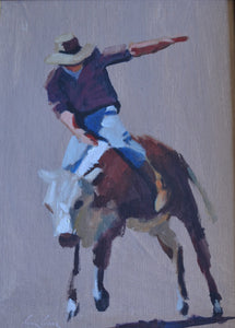 Rodeo Man by John Gillies