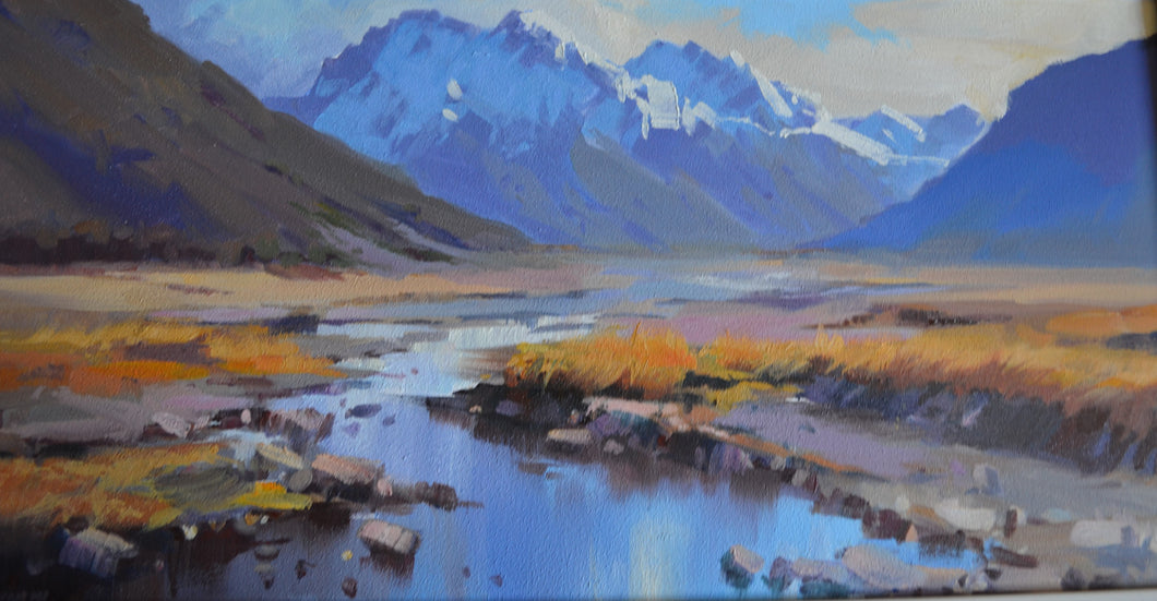 Arthurs Pass by Charles Pickworth