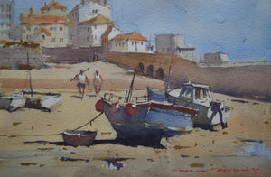 Boats Beached by Garrick Tremain