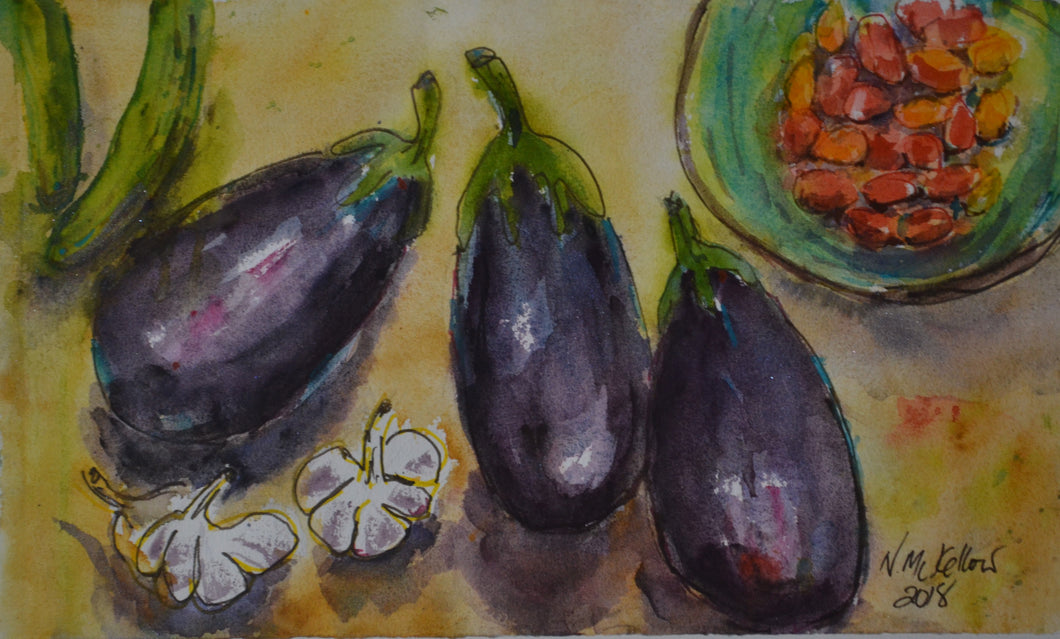 Eggplant by Nell McKellor