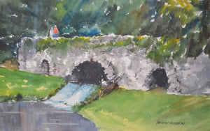 On a Welsh Bridge by Devon Huston