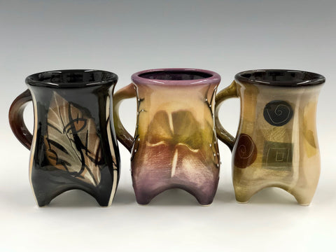 Signature Three-Footed Mug (Various Colors)