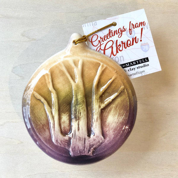 Akron Collectible Landmark Ornaments/ Wall Plaques (Set of3)