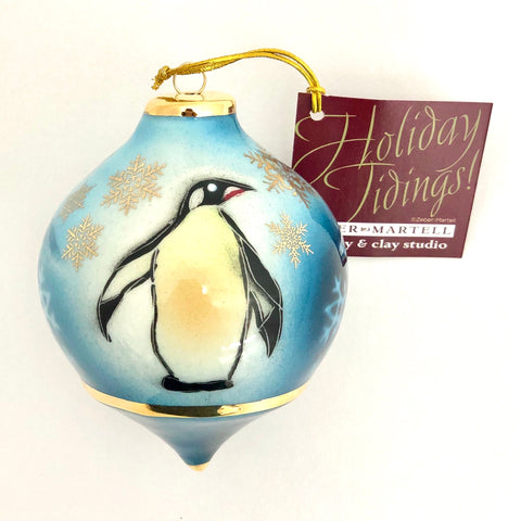 Bulb Ornament (Penguin)