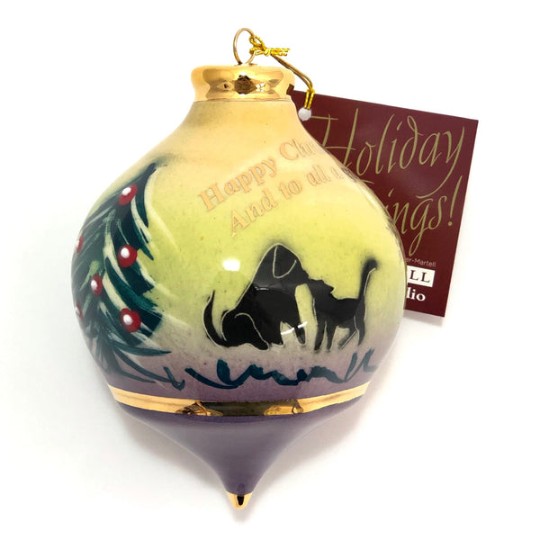 "Bulb Ornament (""And to All a Good Night"")"