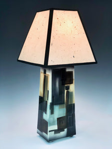Table Lamp, Small Four-Sided