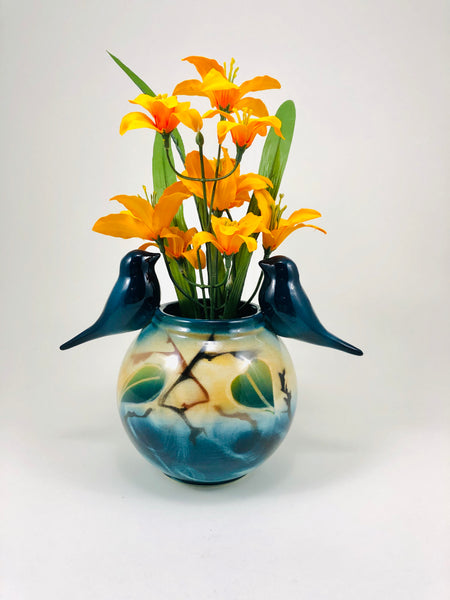 Friendship Vase (teal)