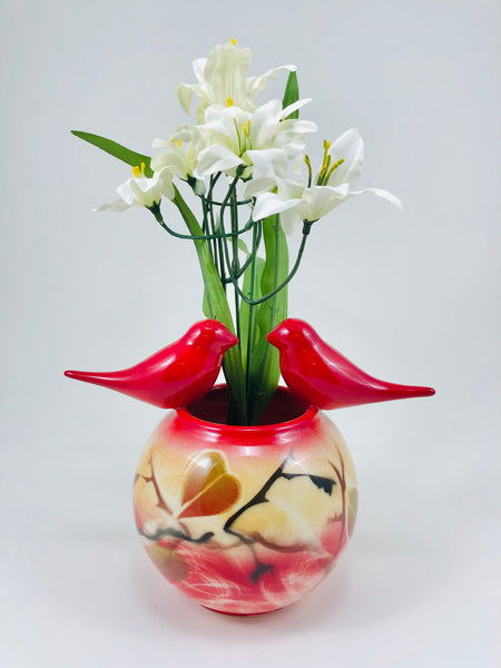 Friendship Vase (red)