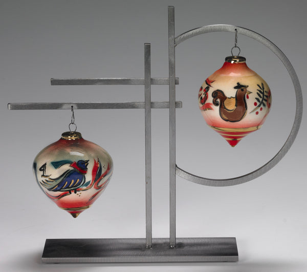 Double Ornament Display