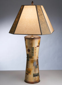 Table Lamp, Hour-Glass Style