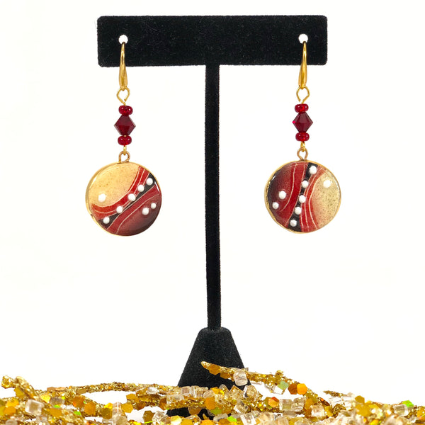 Earrings, Classic Round (small)
