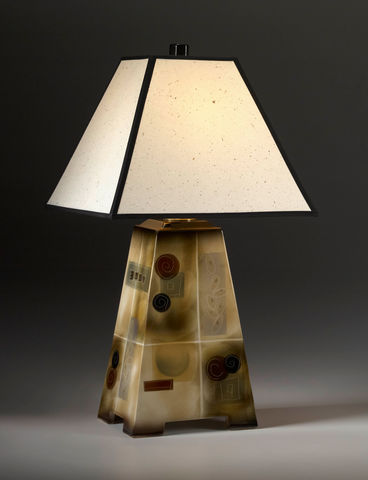 Table Lamp, Four-Sided
