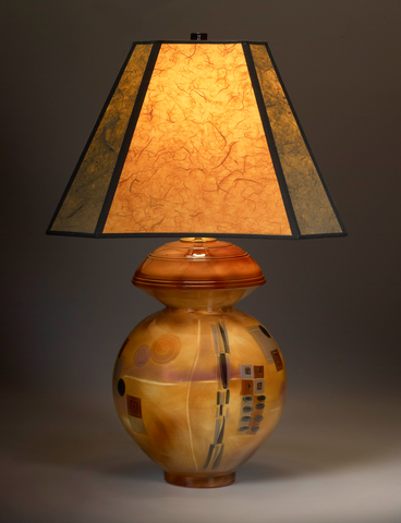 Table Lamp, Round