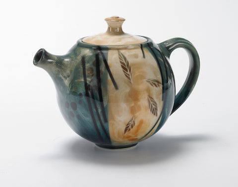Teapot (Emerald Breeze Pattern)