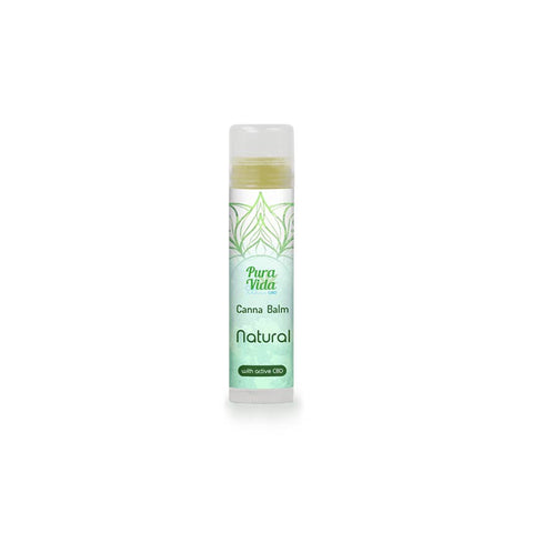 Stick labial Pura vida NATURAL (5 ml) - Cbdariobarcelona.com