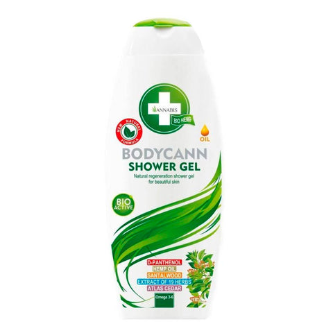 BODYCANN Annabis Hemp Shower Gel (250ml) Vegan - Cbdariobarcelona.com