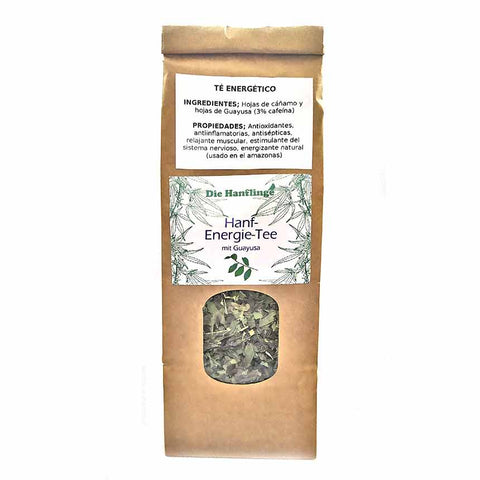 ENERGY tea with hemp - Bio Hanf Energie-Tee (50gr) - Cbdariobarcelona.com