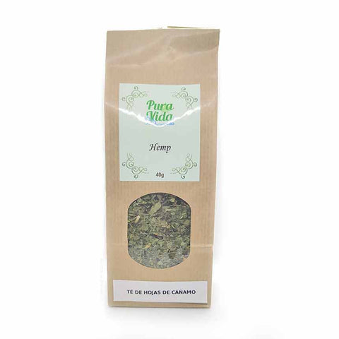 PURA VIDA HEMP NATURAL hemp tea with CBD (40gr) - Cbdariobarcelona.com