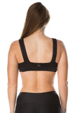 'Bonded' Sports Bra - Black - Cassandra-Anne