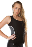 'The Basics' Singlet - Black - Cassandra-Anne