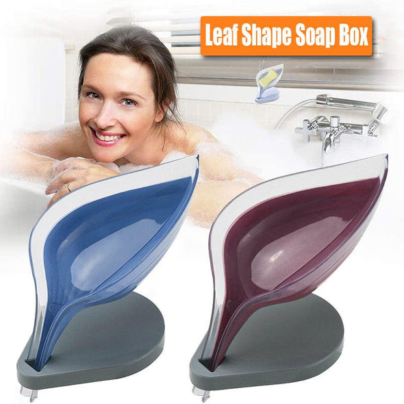 Leaf Shape Soap Box