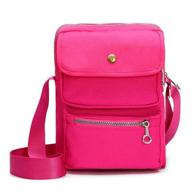 Women's Solid Waterproof Nylon Bags Multi-pocket Crossbody Bags(Get 2nd one 20% off) - Marfuny