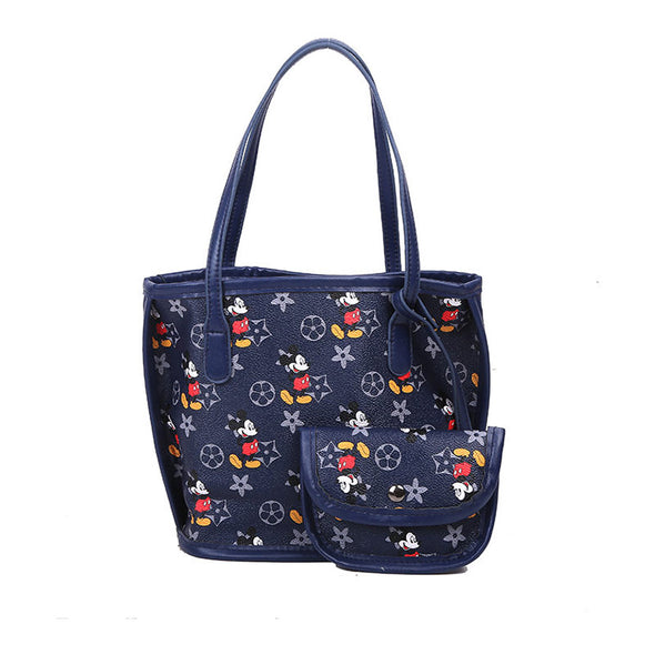 Mickey Print 2 in 1 Handbag