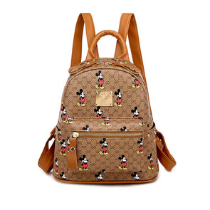 Mickey Classic Print Casual Backpack