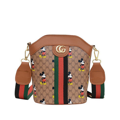 Mickey Print Fashion Shoulder Bag
