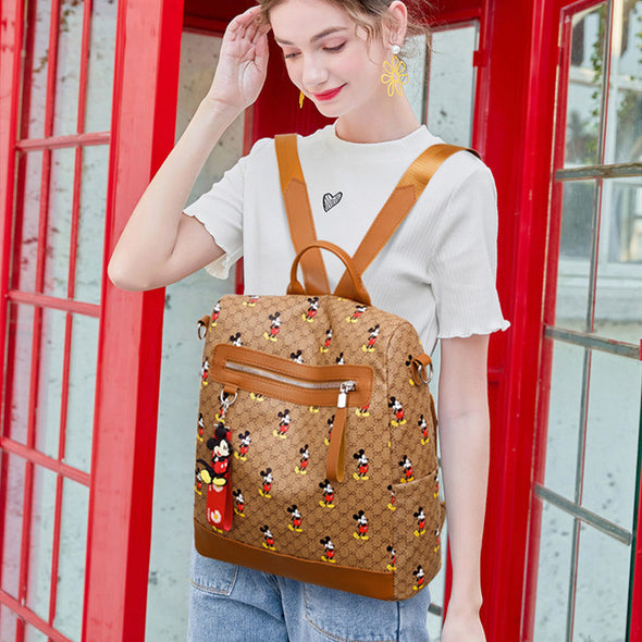 Mickey Classic Print Fashion Backpack