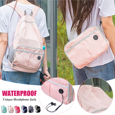 ⏰ Limited Stock At 50%OFF⏰ Foldable 2 in 1 Backpack & Satchel Portable Ultralight Travel Daily Bag