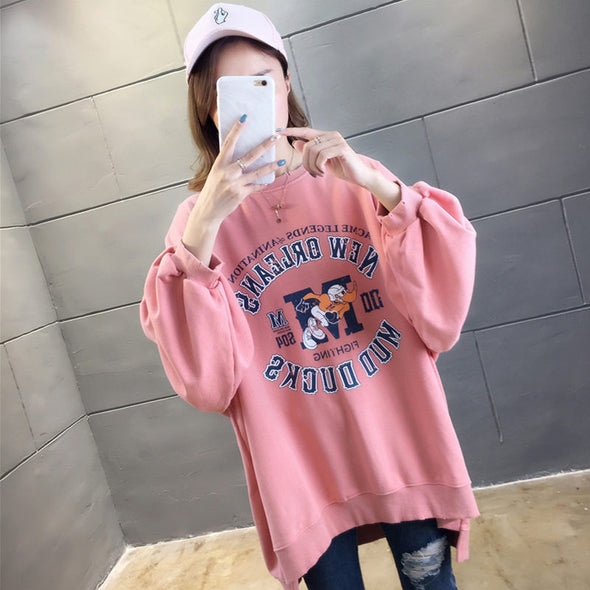 Mickey Oversized Fashion Sweatshirt