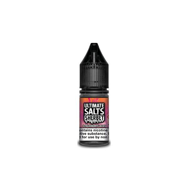 10MG Ultimate Puff Salts Sherbet 10ML Flavoured Nic Salts (50VG/50PG)