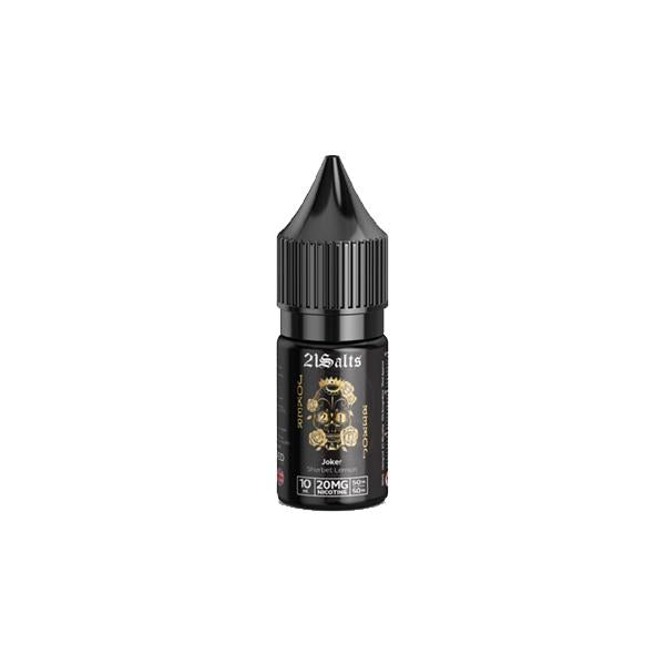 20mg 21 Vape by Red Liquids 10ml Flavoured Nic Salts (50VG/50PG)